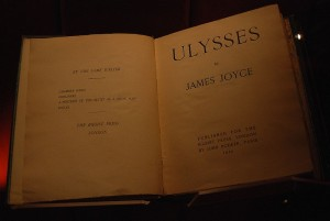 """Manchester John Rylands Library James Joyce 16-10-2009 13-55-16"" by Paul Hermans - Own work. Licensed under CC BY-SA 3.0 via Wikimedia Commons -"