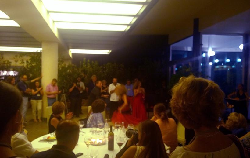Sicilian traditional dance performance