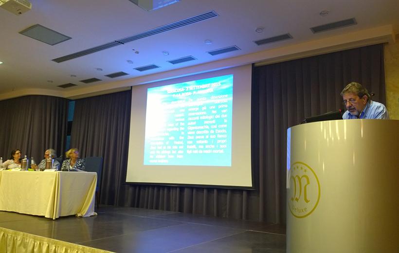 The opening talk: Pasqualino Ancona