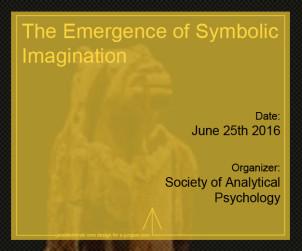 The Emergence of Symbolic Imagination