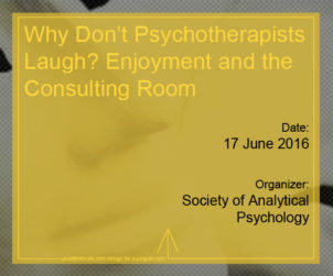 Why Don't Psychotherapists Laugh